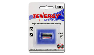 Card 1 Tenergy 3v 750mah Lithium Primary Cr2 Battery With