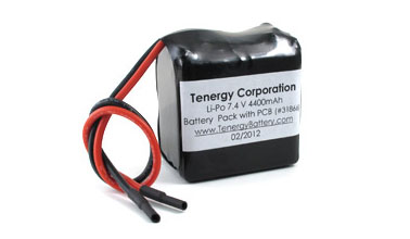 At Tenergy Lipo 7 4v 4400mah 925050 Rechargeable