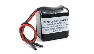 At Tenergy Lipo 7 4v 4400mah 925050 Rechargeable