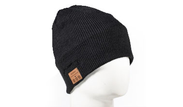 edf8f42d687d8 Tenergy Bluetooth Beanie w  Basic Knit (Black)