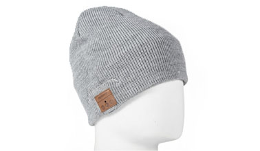 cda7eb2a347 Tenergy Bluetooth Beanie w  Basic Knit (Grey)