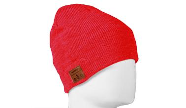 Tenergy Bluetooth Beanie w  Basic Knit (Red) 81b4d8e1a2b