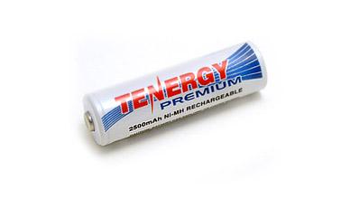 Tenergy Premium 2500mAh Ni-MH AA